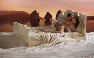 emla creme sfeer bed