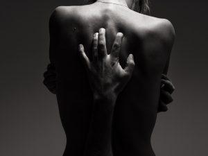 erogene zones vrouw rug