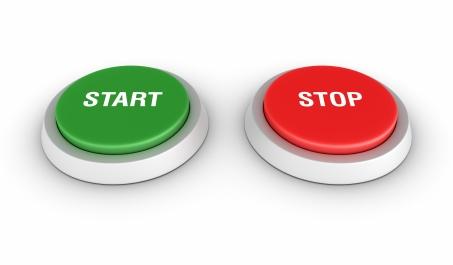 start stop knoppen