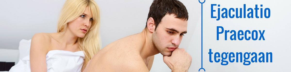 ejaculatio praecox tegengaan