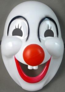 vrouwen wegjagen doordat je een clown bent