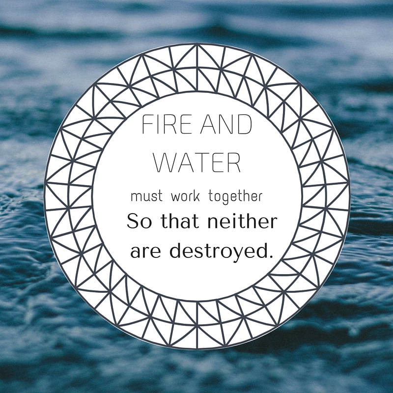 taoïsme seks metafoor water en vuur