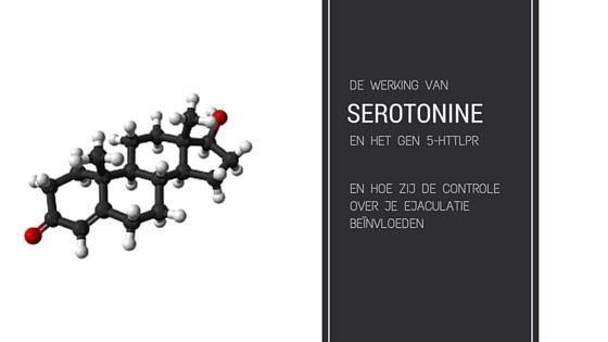 invloed van serotonine op het ontstaan van vroegtijdige ejaculatie