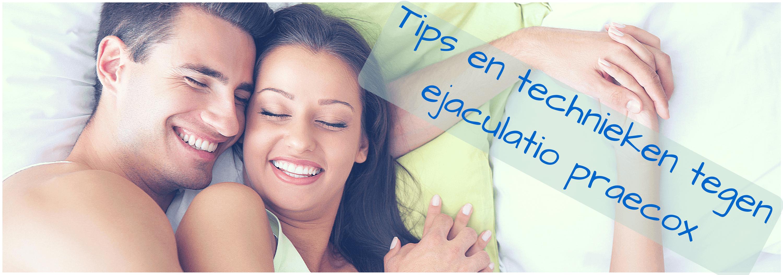 technieken tegen ejaculatio praecox