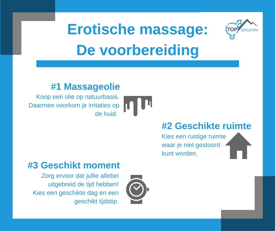 erotische massage voorbereiding