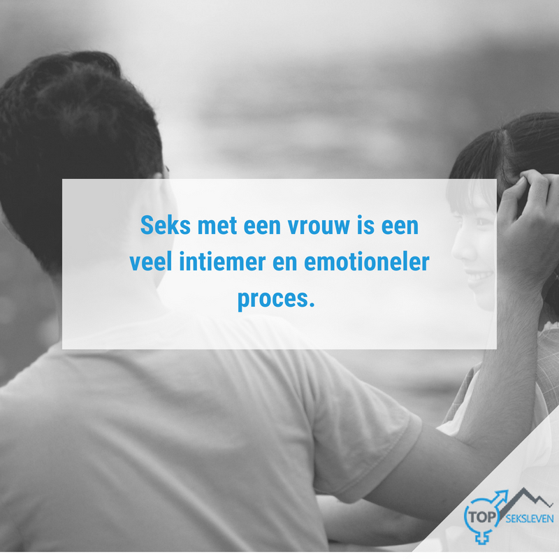 seks is emotioneel en intiem